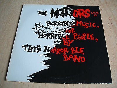 the meteors live II  original 1986 uk vinyl lp do jo lp 22 mint - psychobilly