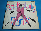 "rockabilly party  ace label  10"" vinyl 10 track lp 10 ch 17   ex+   rock n roll"