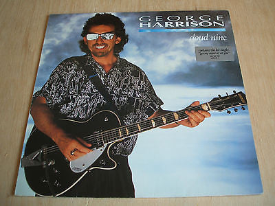 george harrison cloud nine 1987 german issue dark horse label vinyl lp ex ex
