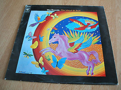 the rascals the island of real original 1972 dutch cbs label vinyl lp excellent