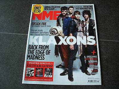 new musical express nme 24.7.2010 klaxons arcade fire