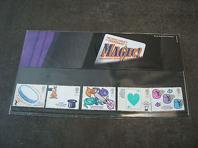 royal mail presentation pack  the magic circle centenary   2005  mint stamps