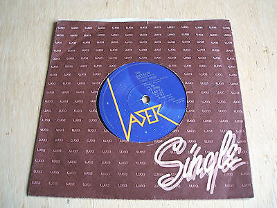 "your hero the dictator / snogging at the roxy lazer label  7"" vinyl 45  newave"