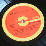 sound effects number 4  1971  bbc recordings sound effects vinyl lp  mint -