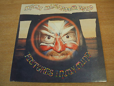 magic mushroom band pictures in my mind 1991 uk magick eye label ex+ space rock