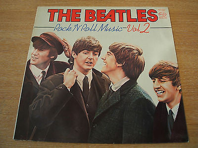 the beatles rock n roll music vol 2 1980 uk mfp label vinyl lp   all excellent