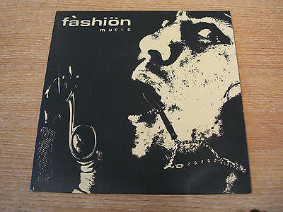 "fashion music steady eddie steady 1978 uk issue  7"" vinyl 45  new wave electro"