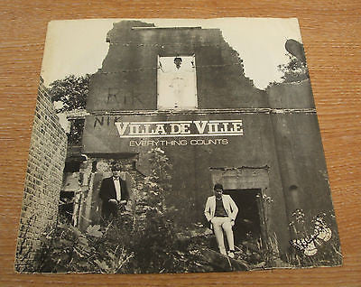 villa de ville everything counts 1982 admiral label uk issue vinyl single 45 7""