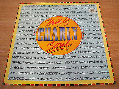 this is charly soul 1987 uk funk soul compilation  vinyl lp  excellent