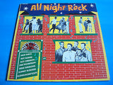 "all night rock 1982  sun / charly label  10"" vinyl 10 track lp cfm 504 ex+"