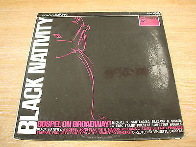 black nativity various artist 1962 uk statside  label vinyl lp funk soul gospel