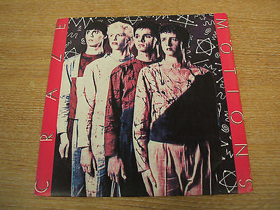 "craze motions 1979 uk demo / promo  7"" vinyl single mint- cobra label   newave"