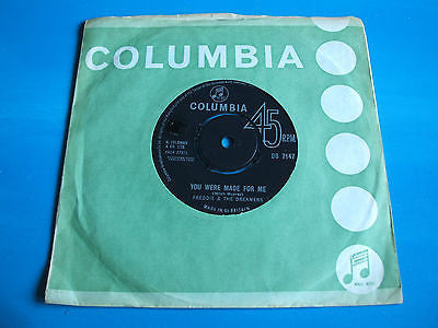freddie & the dreamers you were made for me  original 1963 uk issue vinyl 45