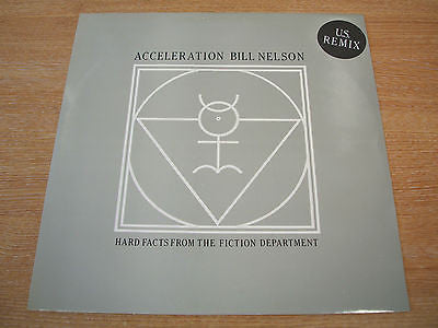 "bill nelson acceleration 1984 cocteau label 12"" vinyl ep  mint -   synth wave"