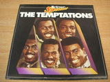 the temptations uk motown special label promo white label  vinyl lp  mint -