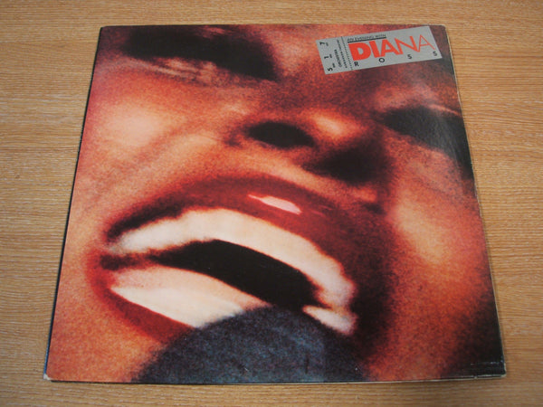 an evening with diana ross 1977 uk motown promo white label dbl vinyl lp  mint -