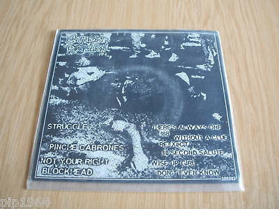 thee outcasts struggle ep canadian punk clear vinyl 7""