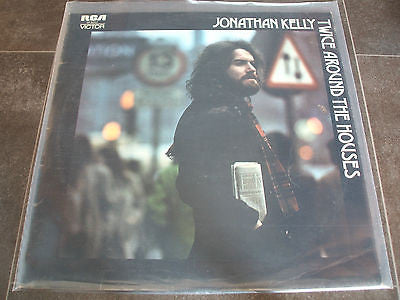 jonathan kelly twice around the houses 1972 uk rca victor lp sf8262 excellent