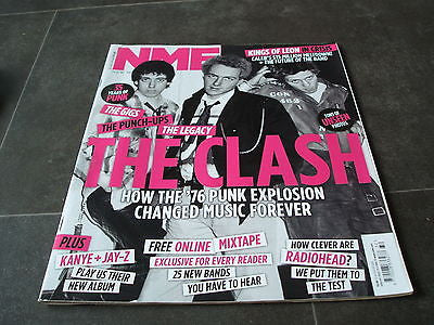 new musical express nme august 2011 the clash