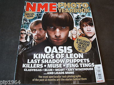 new musical express  nme  3  jan  2009   front cover  oasis kings of leon