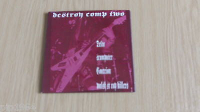 destroy vol 2 thrash punk worldwide compilation mint