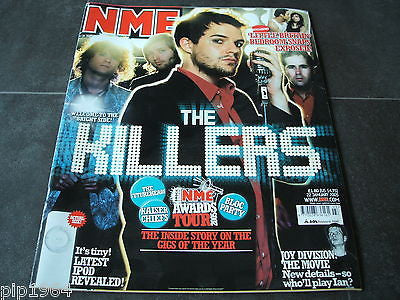 new musical express nme 22nd jan 2005 front cover stars the killers   ex