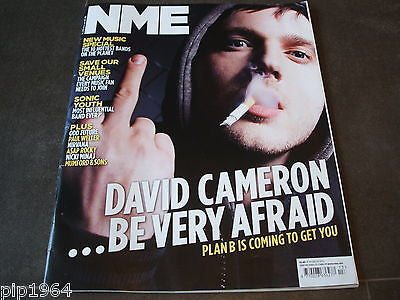 new musical express  nme  31st march 2012  front cover  plan b