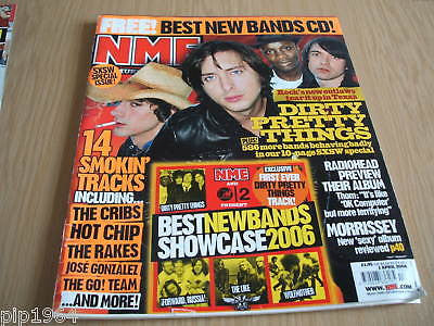 new musical express nme 1.4.2006 dirty pretty things