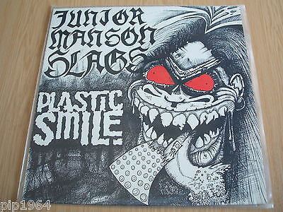 "junior manson slags   plastic smile ep    12"" vinyl  1989 uk excellent indie"