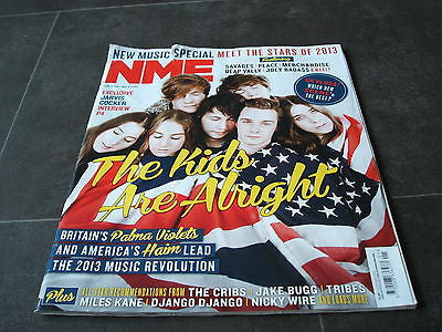 new musical express nme 5th january   2013  stars of 2013