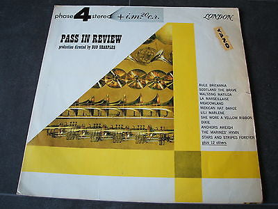 bob sharples various  pass in review 1960's south american pressed vinyl lp