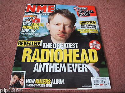 new musical express nme 19.8.2006 radiohead killers