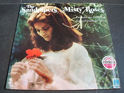 the sandpipers misty roses  original 1970's south american pressed vinyl lp