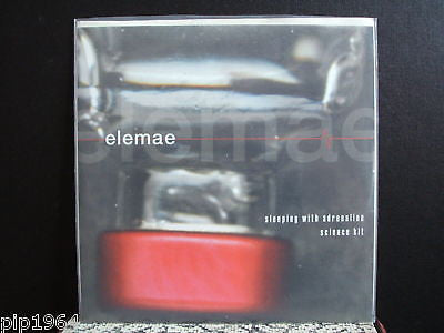 "elemae sleeping with adrenalin clear vinyl 7"" usa ex+"