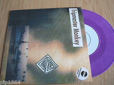 "tripmaster monkey shutters closed purple vinyl  7"" ex"