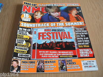 new musical express nme 17.6.2006 festival special