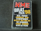 brat pack 98  cassette tape given away free with new musical express 1998