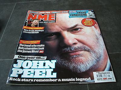 new musical express nme 15th october 2005 john peel  franz ferdinand