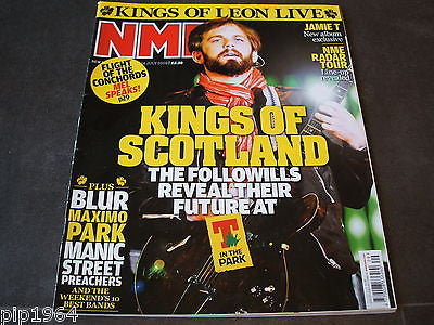 new musical express  nme  18 july  2009   front cover  kings of leon