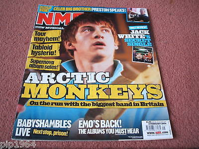 new musical express nme 4.2.2006 artic monkeys