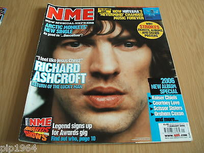 new musical express nme 7.1.2006 richard ashcroft