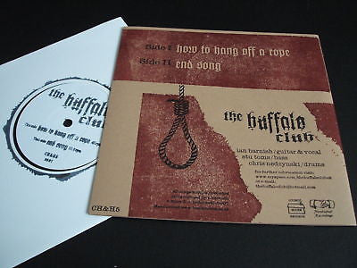 "the buffalo club  how to hang off a rope  uk 7"" mint"