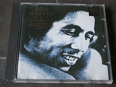 bob marley early years 1968-1974  uk 18  track compact disc