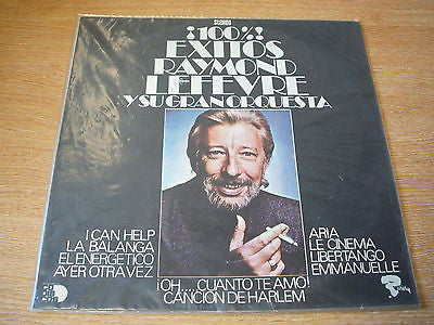 raymond lefevre  100% exitos! 1960's    south american / colombian  pressing lp