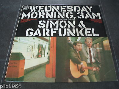 simon & garfunkel   wednesday 3a.m.  1965 uk cbs label lp a1 b1 very good