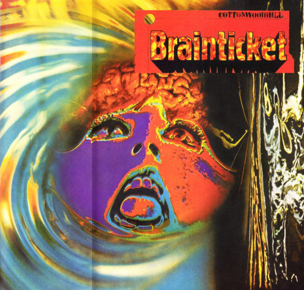 BRAINTICKET – Cottonwoodhill clear vinyl lp   LR313C