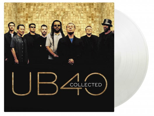 COLLECTED (2LP COLOURED TRANSPARENT) by UB40 Vinyl Double Album MOVLP1814