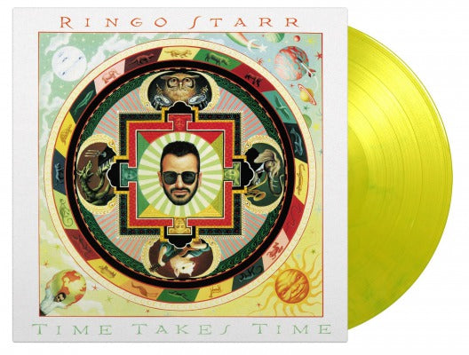 TIME TAKES TIME (COLOURED) by RINGO STARR Vinyl LP MOVLP572C   pre order