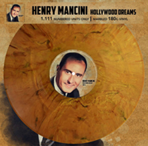 HOLLYWOOD DREAMS (BROWN MARBLE VINYL) by HENRY MANCINI Vinyl LP