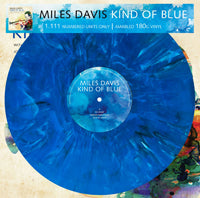 KIND OF BLUE (BLUE MARBLE VINYL)  by MILES DAVIS  Vinyl LP  3604